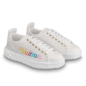100% Authentic Louis Vuitton Time Out Sneaker